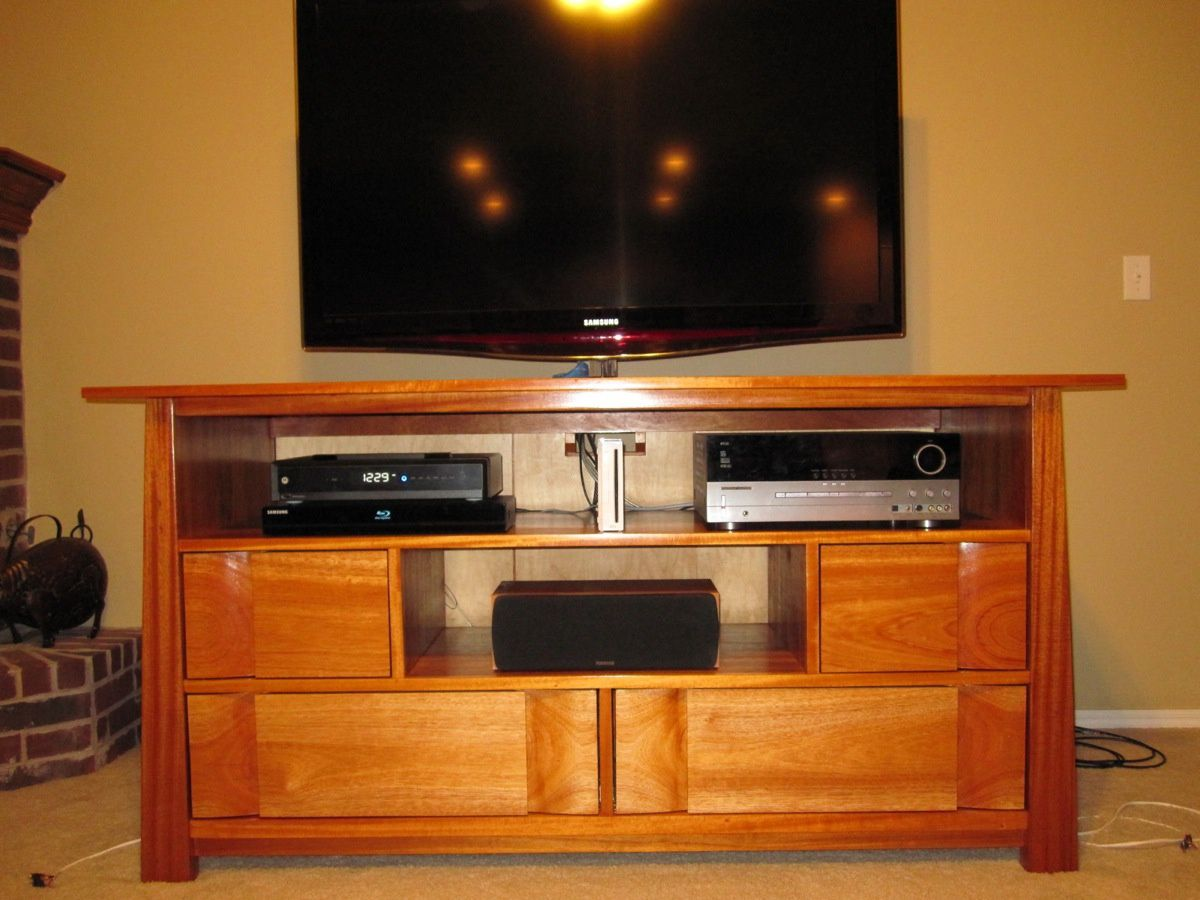 tv stand wood plans