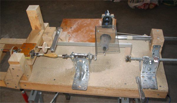 diy wood lathe plans