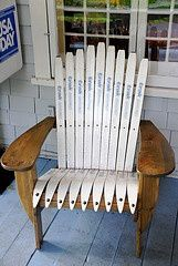 adirondack chair plans skis free