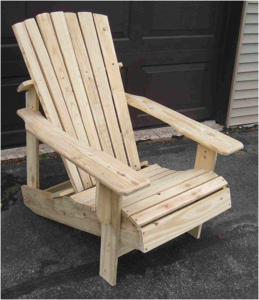 build adirondack chairs pallets