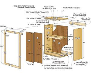 wood cabinet building