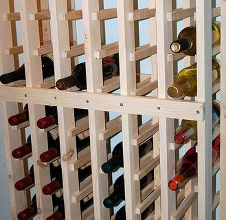 wine rack kits and plans