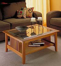 coffee table furniture plans