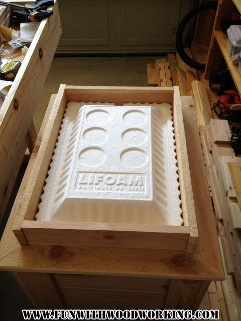 wood ice chest plans