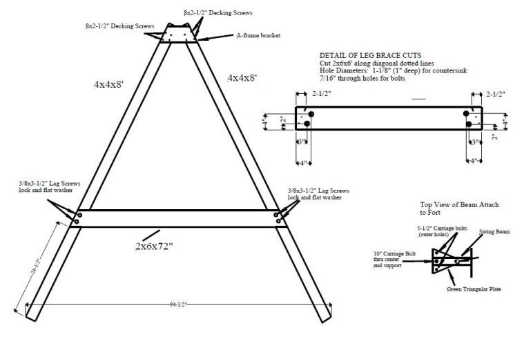 woodworking plans swing