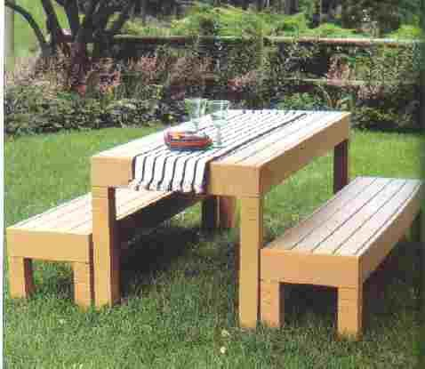 yard furniture plans