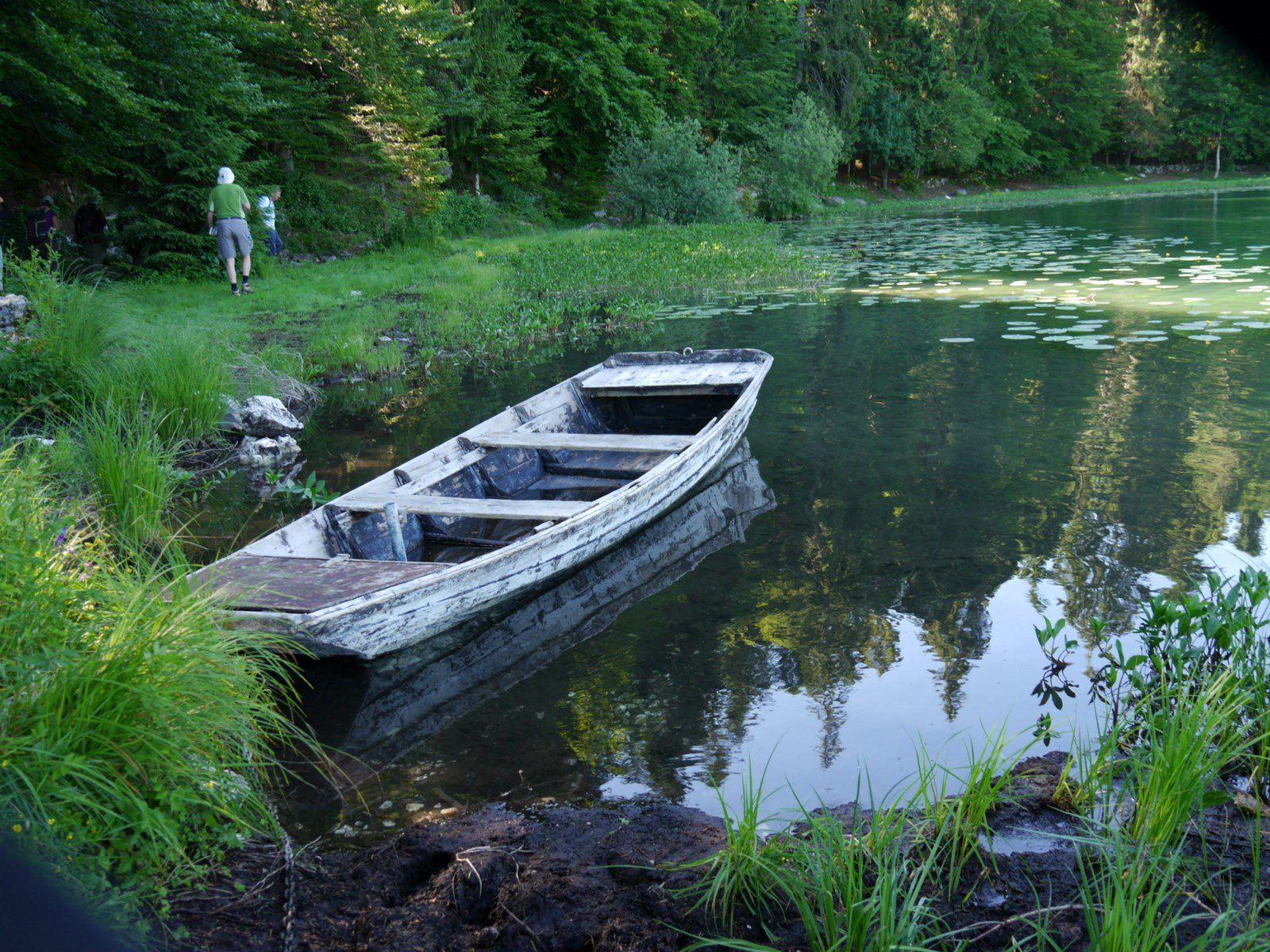 Balade au lac Genin....