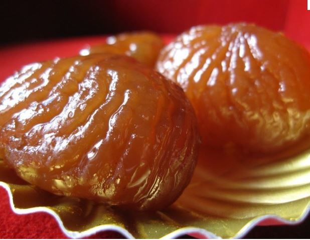 Marrons glacés, photo Internet.