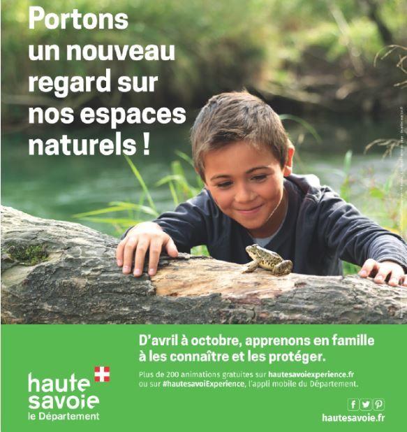 Animation Espaces Naturels Sensibles de Haute-Savoie à la Montagne des Princes, un belvèdère qui met l'eau à la bouche.