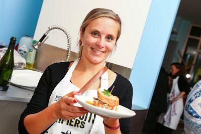Sandwich à la joue de porc, sauce &quot&#x3B;tartare&quot&#x3B; à la poire et fenouil pour un atelier tripier