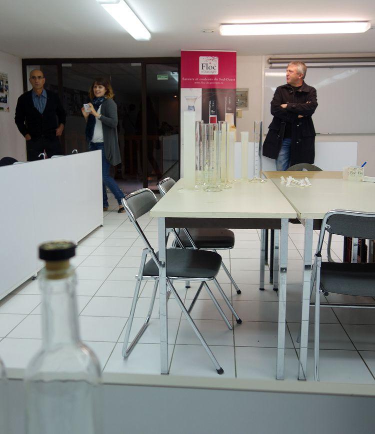 Brioche perdue au floc de Gascogne au foie gras et fruits secs, chutney d'abricots