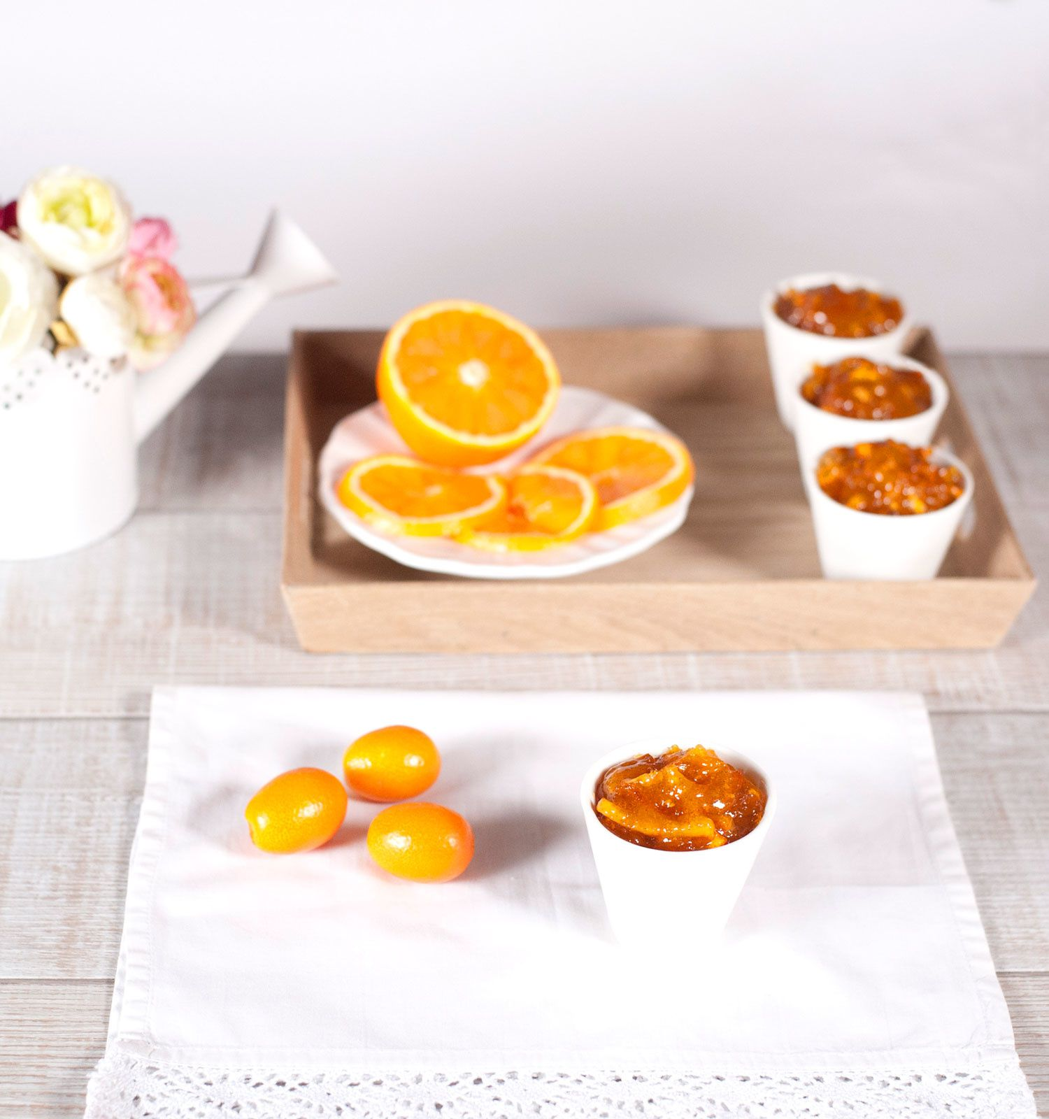 Confiture de Kumquats et d'orange à la vanille