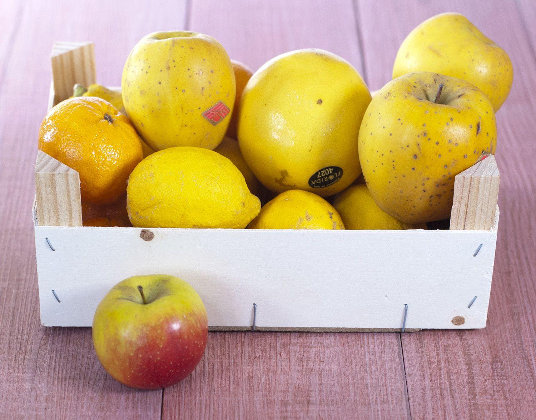 Gâteau aux pommes, oranges et son topping d'amandes