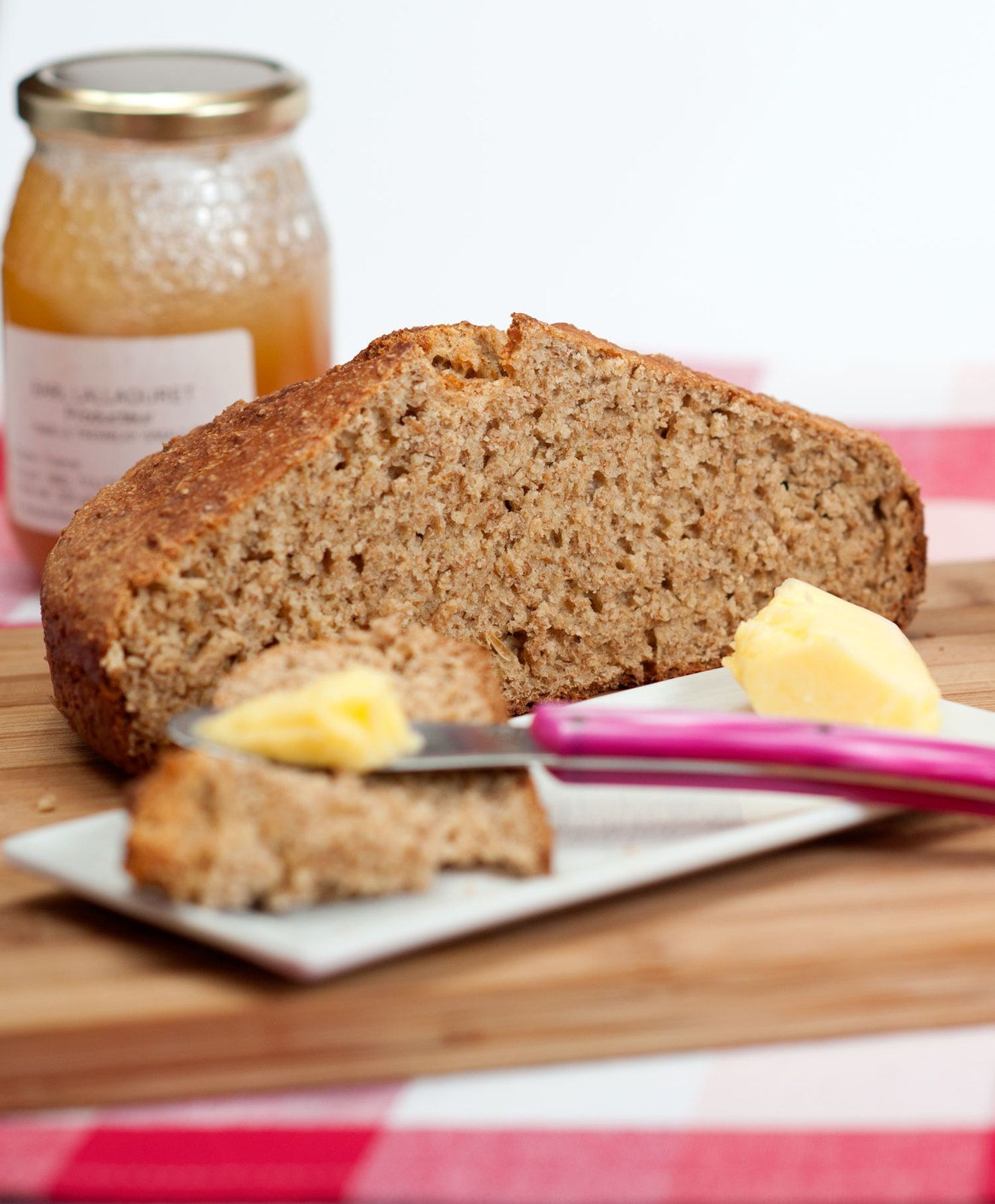 Soda bread en cocotte : pain irlandais rustique