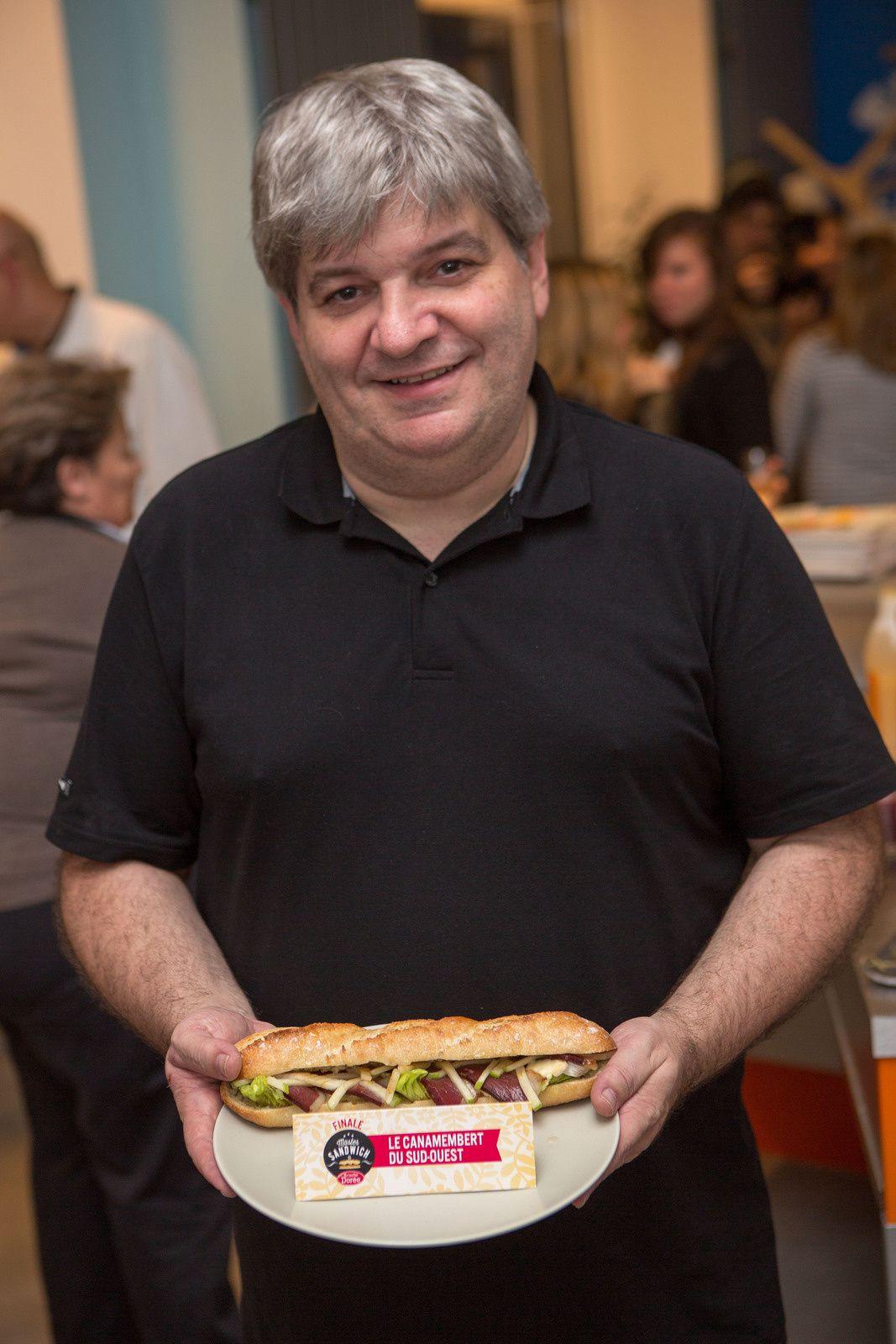 Un sandwich gourmand et réconfortant