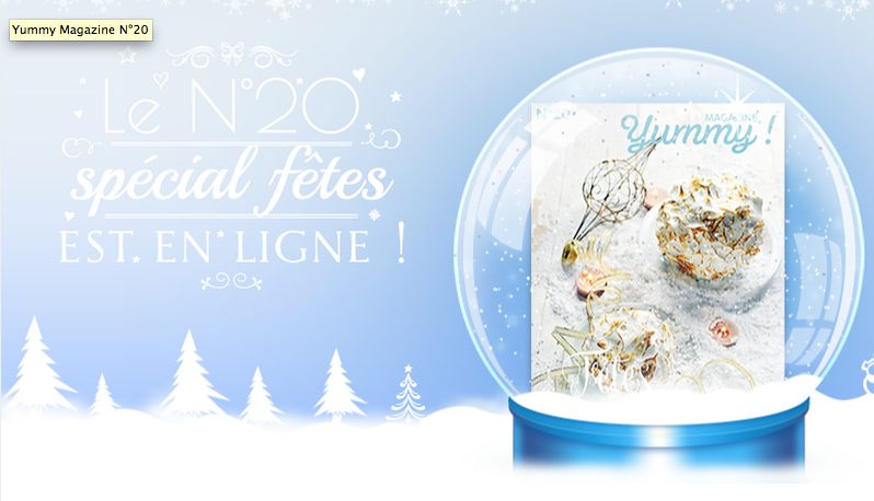 Yummy magazine spécial Noël n° 20 est paru