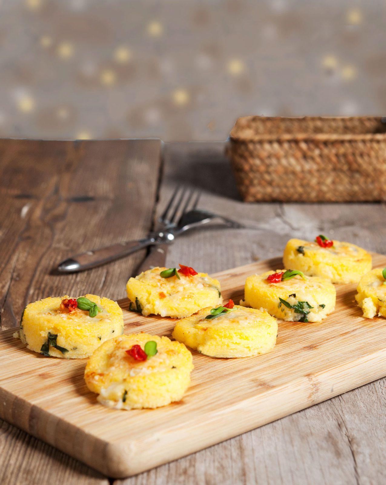 Polenta aux blettes et au fromage de brebis