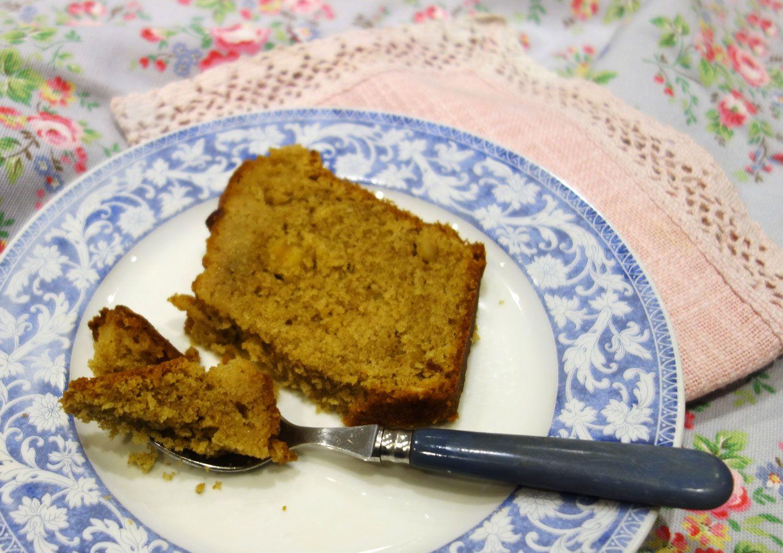 Cake praliné aux noisettes et au citron