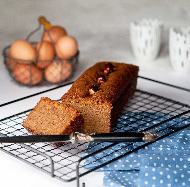 Cake très noisettes ou gâteau de voyage (sans gluten)