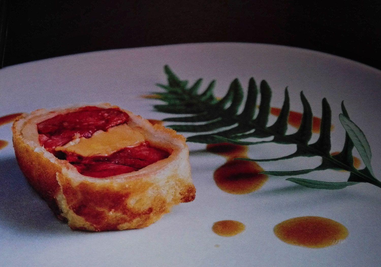 Pigeon-foie gras-polypode (fougère comme vous pouvez le voir !)