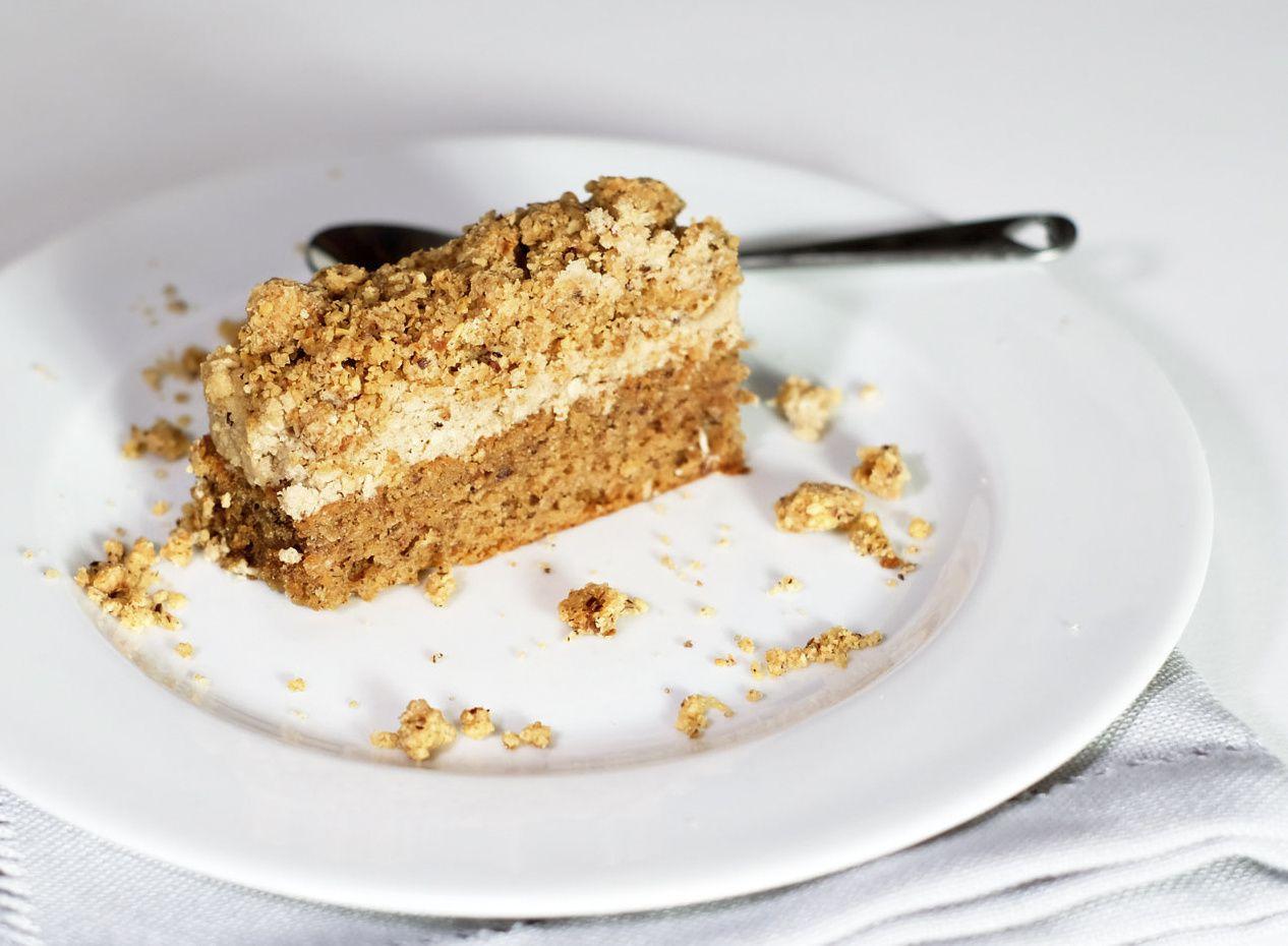Gâteau au café doux et streusel de Philippe Conticini