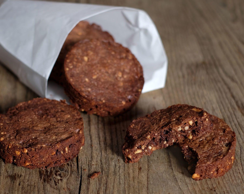 Sablés au chocolat et aux noisettes de Philippe Conticini