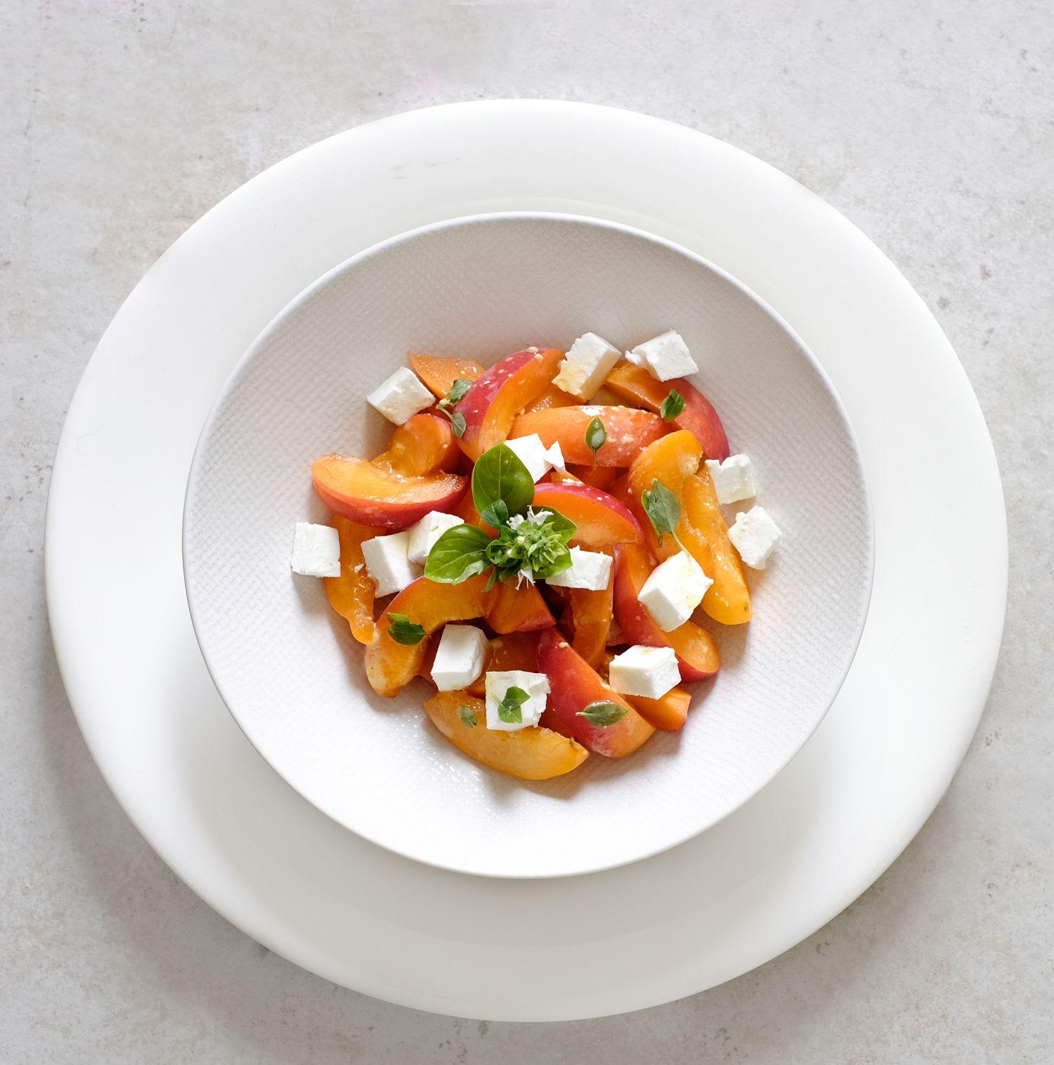 Salade d'abricots à la feta