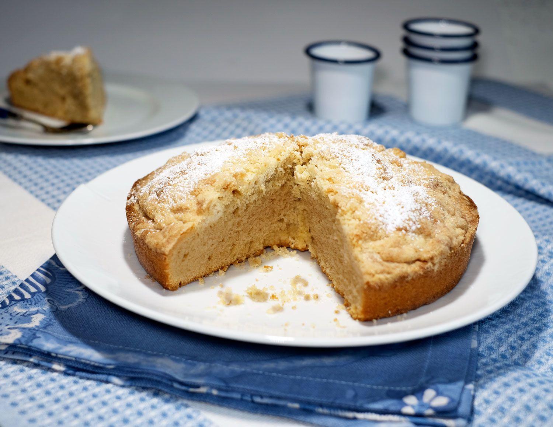 Gâteau crumble au café doux pour Melitta