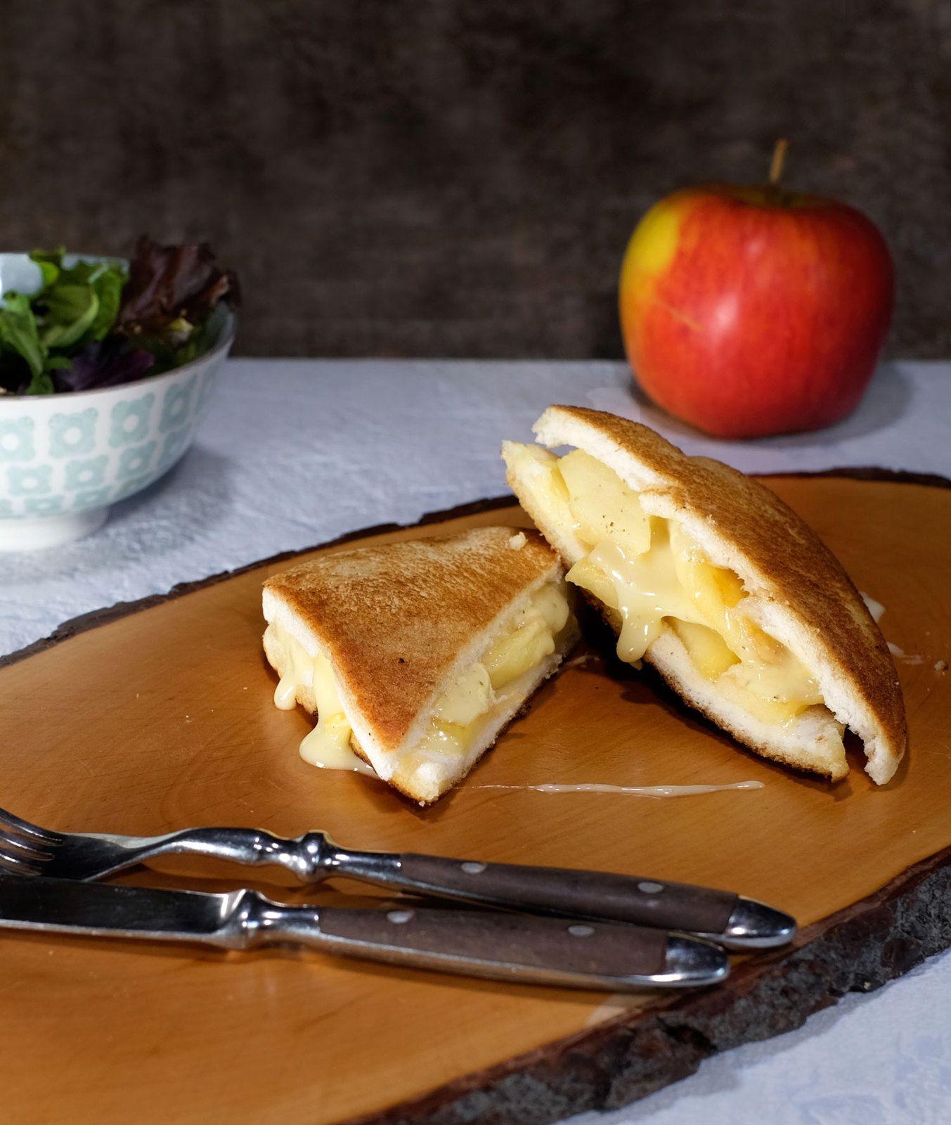 Croque-monsieur pommes rôties et reblochon