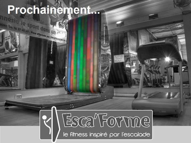 Nouveau en France : Escaforme, l'alliance du fitness et de l'escalade.