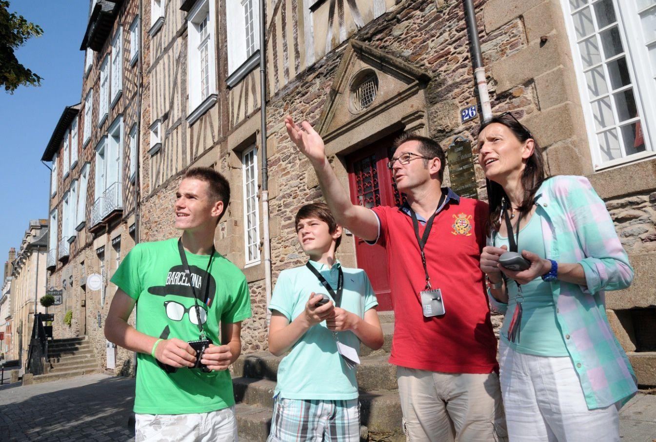 Projet TIC innovant de Haute Bretagne avec l'application geocaching