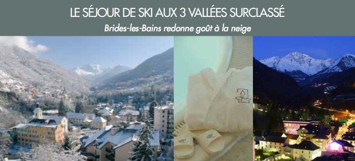 Brides-les-Bains : la destination neige à la portée de toutes les bourses !