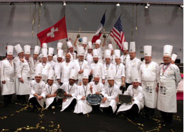 La France remporte la finale de l'International Catering Cup 2015 au SIRHA à Lyon