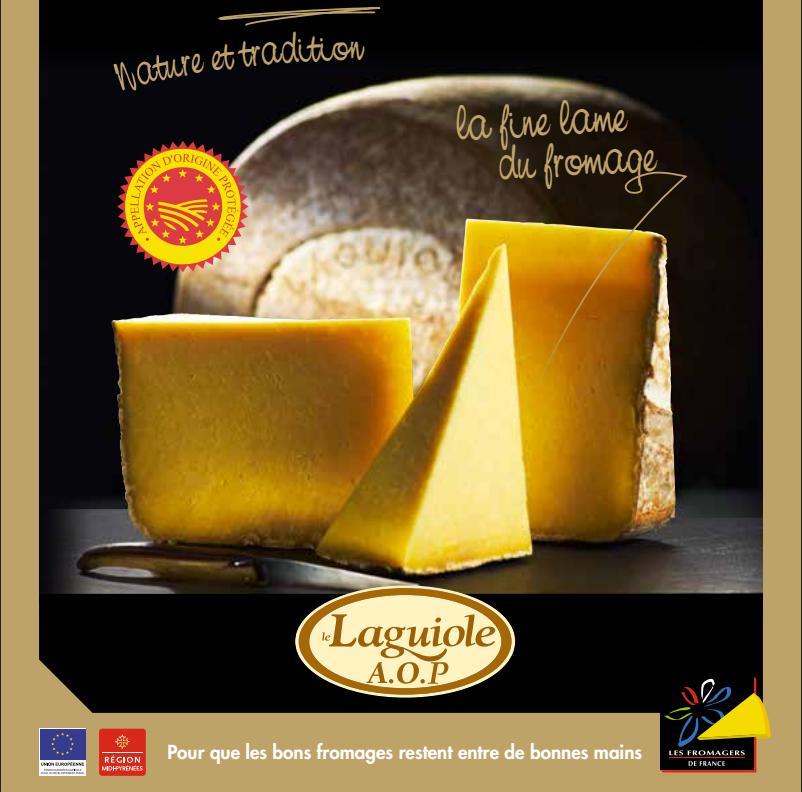 Laguiole, le fromage au lait cru de l'Aubrac à l'affiche !