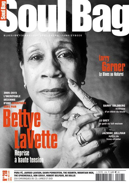 Bettye LaVette actuellement en tournée et à la Une du magazine Soul Bag