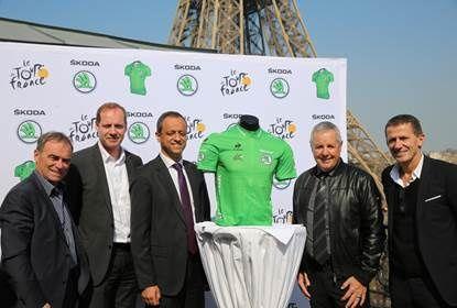Škoda, parrain officiel du Maillot vert du Tour de France et de la Vuelta