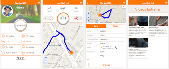 Mon Appli Vélo : l'application mobile gratuite entièrement dédiée aux cyclistes