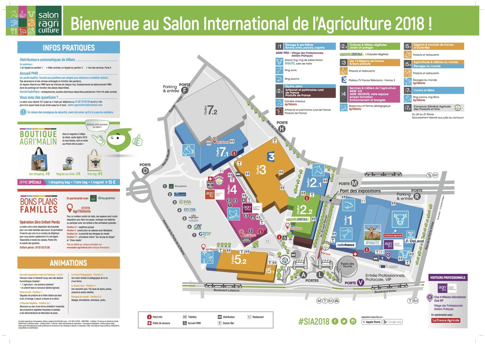 Salon de l 39 agriculture mill sime 2018 c t loisirs news - Tarif parking salon de l agriculture ...