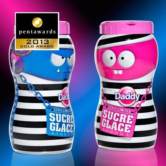 Design : CBA & Sleever Int pour la marque Daddy sucre (France) // Catégorie : Editions limitées