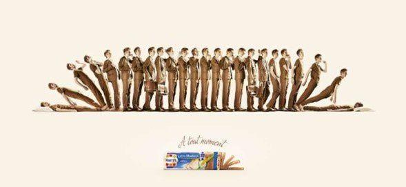 Agence : Herezie, Paris, pour le pain de mie Extra Moelleux Harry's (avril 2013)