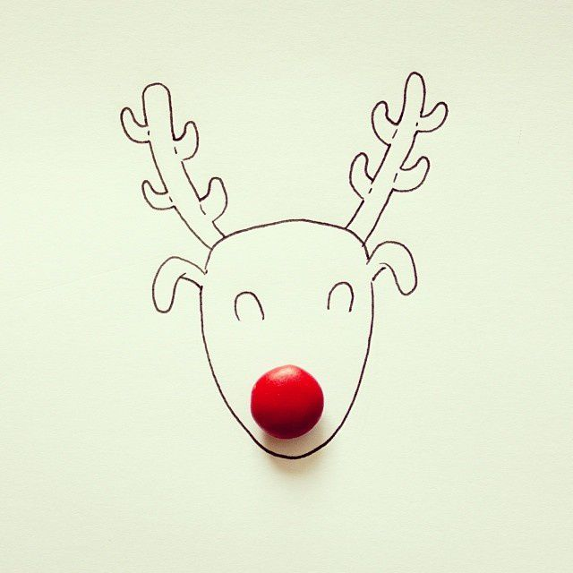 Rudolph The M&M Nose Reindeer #mandm - Javier Pérez