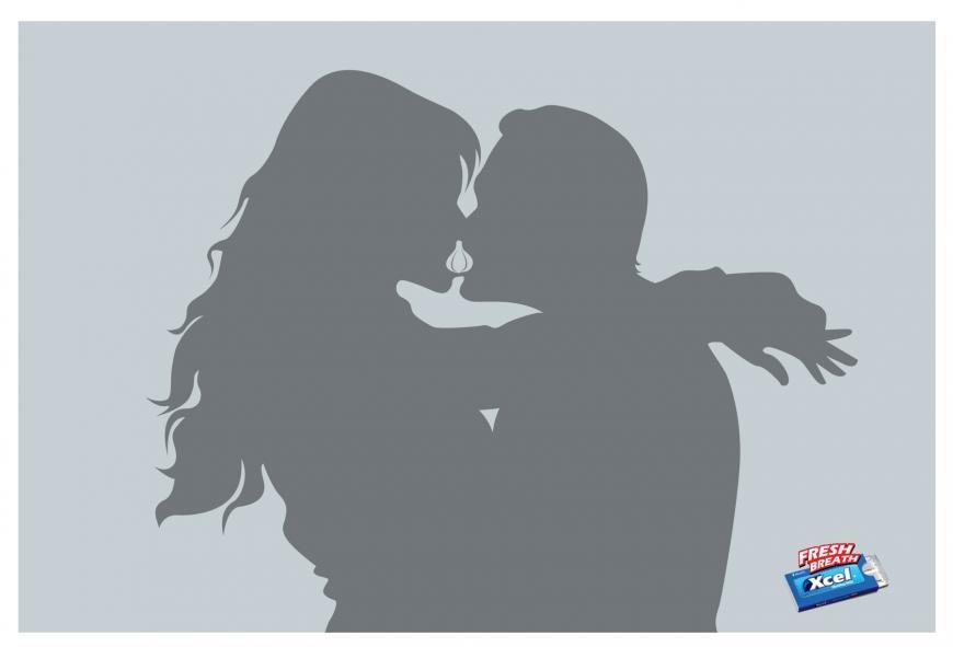 """Fesh breath"" | Agence : Grey, Dhaka, Bangladesh pour la marque de chewing-gums Xcel (mars 2013)"
