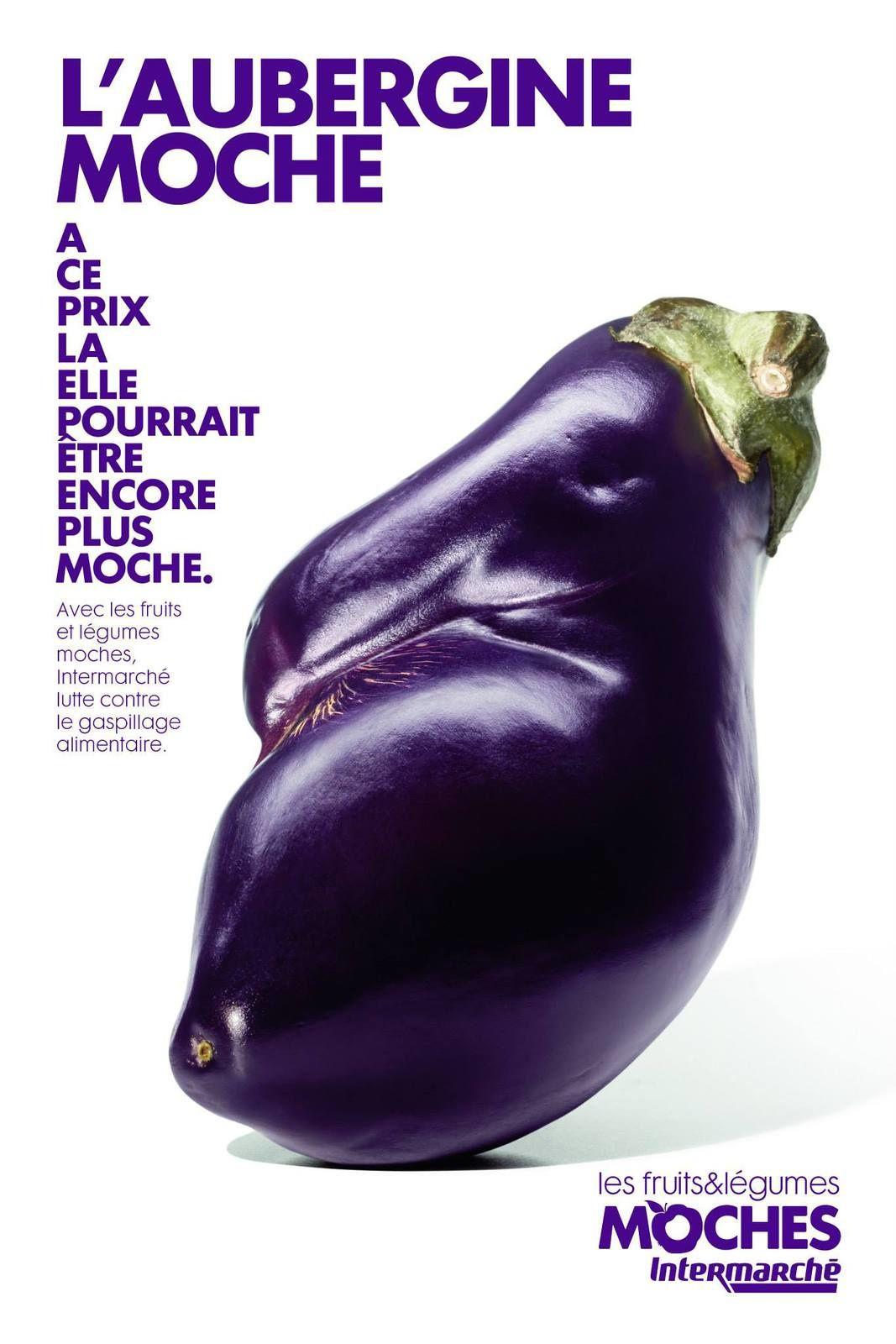 """""""Les Fruits & Légumes moches""""   Agence : Marcel, France pour Intermarché (mars 2014)"""