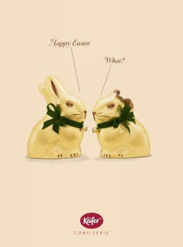 """Happy Easter"" ""What ?"" 