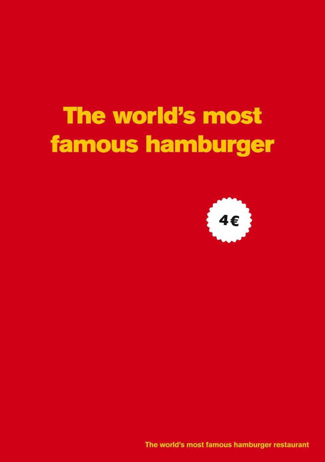 """McDonald's Big mac: The world's most famous hamburger"" 