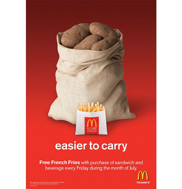 Agence : RIESTER pour McDonald's (2011)