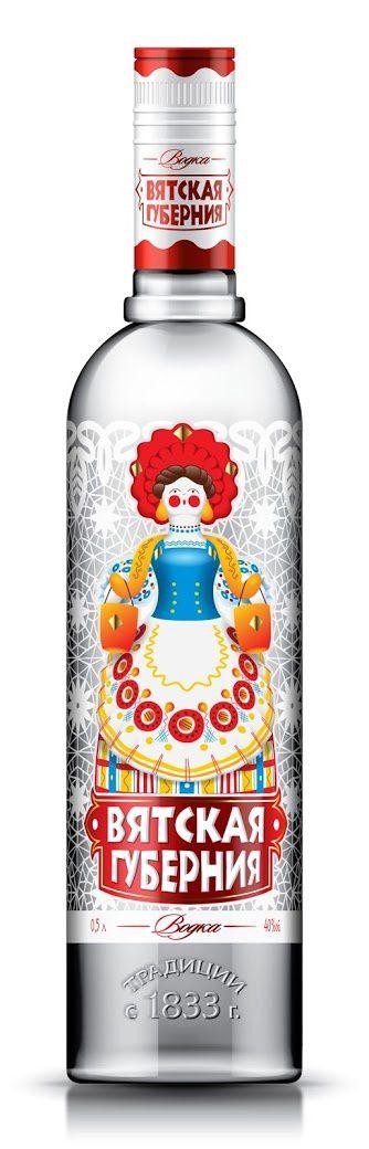 Urzhum distillery (vodka) | Design : Alexandrov Design House, Russie (juillet 2014)