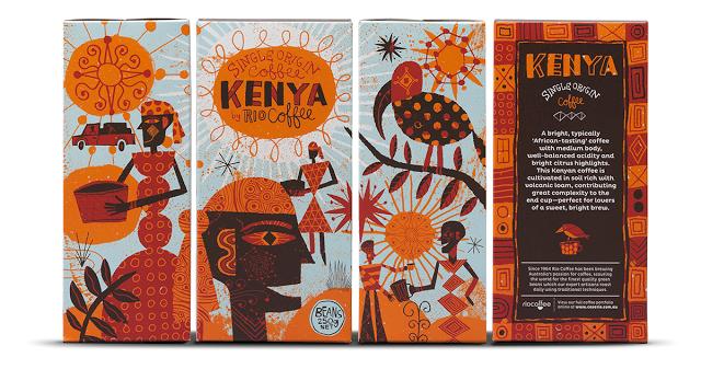 Rio Coffee (café) | Design : Voice, Australie (août 2014)