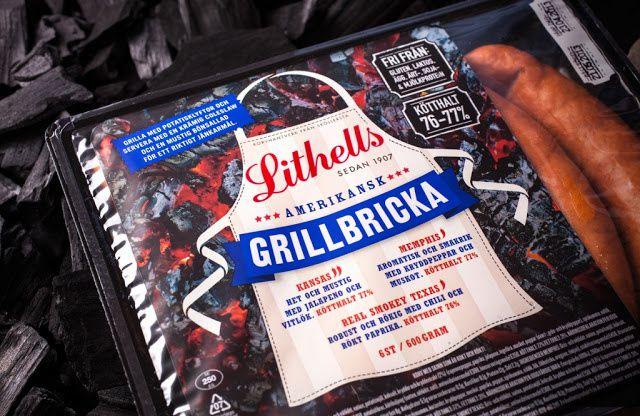 Lithells (saucisses) | Design : Amore, Suède (août 2014)