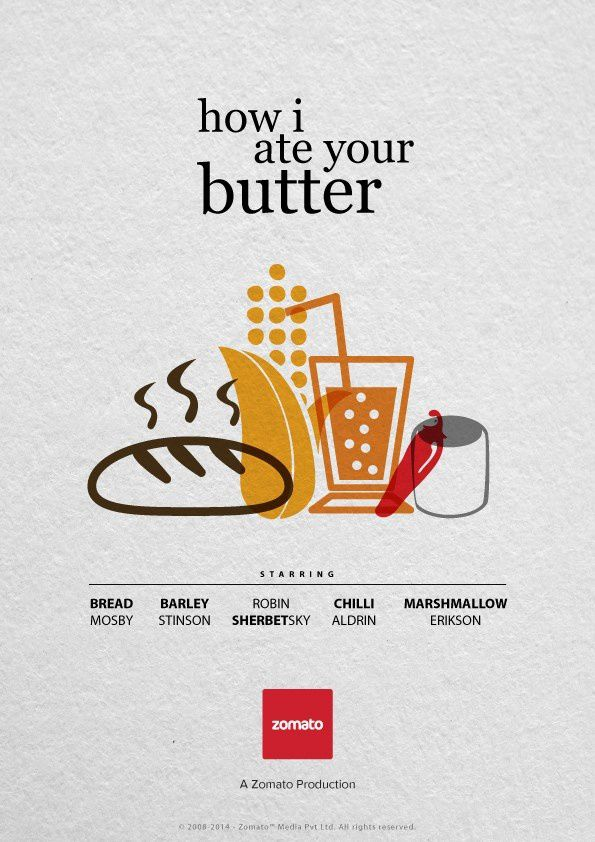 """""""How I ate your butter"""" - Parodie de la série How I hate your mother"""